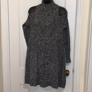 Express- Cold Shoulder Sweater Dress- Size Small